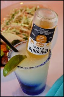 The Corona-Ritas: In a pitcher, combine equal parts (use the limeade can to measure):     Frozen limeade concentrate   water   Sprite   tequila     add one Corona     Stir, serve, and be careful, 'cause these guys go down waaaay too easy!