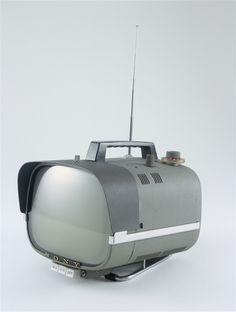 Vintage portable TV