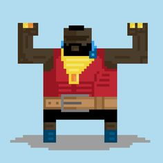 Playing with Pixels — I PITY THE FOOL! Playing with a bit of a...
