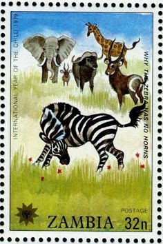 World Wild Life, World Thinking Day, Postage Stamp Art, Love Stamps, Vintage Stamps, Orient, African Animals, Mail Art, Stamp Collecting