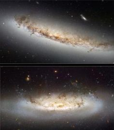 'Ram Pressure' Stripping Galaxies, Hubble Space Telescope Scientists Find