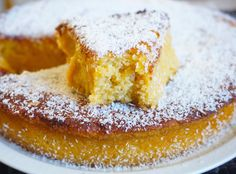 Detalle corte de tarta de calabaza y coco Sin Gluten, Gluten Free, Vegan Coconut Cake, Rak Tv, Tortillas Veganas, Types Of Flour, Ground Almonds, Bundt Cakes, Pound Cake