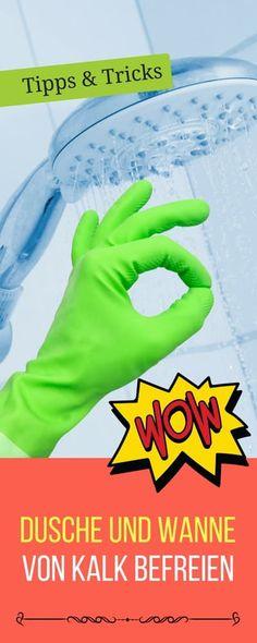 Tricks zum richtigen reinigen von Dusch- und Badewanne | Haushaltsfee.org