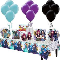 Disney Descendants 2 Party Supplies Are Now Available For Your Premiere Or Birthday