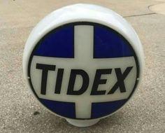 Original 1931 Tidex Gas Globe