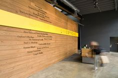 Livestrong Headquarters Wall