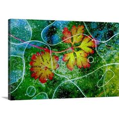 """Canvas On Demand Thaw by Andres Miguel Dominguez Graphic Art on Canvas Size: 20"""" H x 30"""" W x 1.25"""" D"""