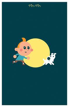Tintin. eeeeh! :) x