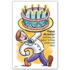 "Medical Arts Press® Chiropractic Standard 4x6"" Postcards; Birthday Cake   Quill.com"