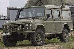 Poderio Militar chileno - Armamento Terrestre - Parte 2Land Rover Defender