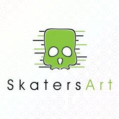 Exclusive Customizable Logo For Sale: Skaters Art   StockLogos.com