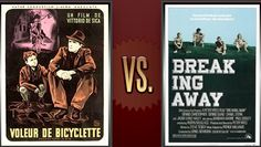 Matchup of the Day: Bicycle Thieves vs. Breaking Away - http://www.flickchart.com/blog/matchup-of-the-day-bicycle-thieves-vs-breaking-away/