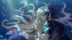 Noctis and luna Noctis Final Fantasy, Final Fantasy Art, Fantasy Series, Final Fantasy Chronicles, Final Fantasy Xv Wallpapers, Noctis And Luna, Mermaid Stories, Noctis Lucis Caelum, Soundtrack Music