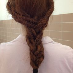 3 fishtails braided