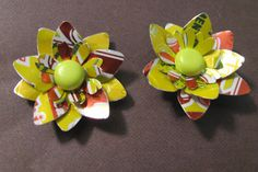 Upcycled Soda Can Post Earrings  Squirt Soda Can  by ZivaKreations, $15.00