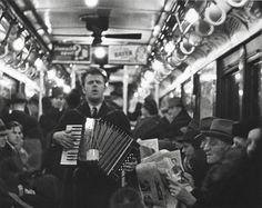 Pasajeros del metro, Nueva York. Walker Evans. 1938.