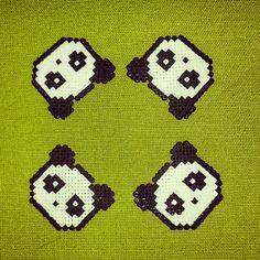 Hama beads pandas