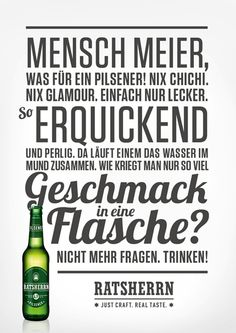 Ratsherrn Poster
