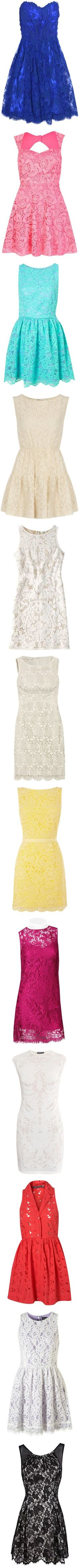 I am obsesssed with lace. I wish everything in my life was lace.