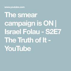 The smear campaign is ON Israel Folau, You Youtube, Campaign