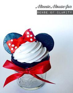 Minnie Mouse Inspired Fake Cupcake Jar!