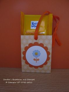 RITTER SPORT Geschenkverpackung selbst gemacht