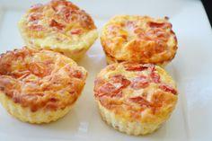 Egg Muffins με τομάτα & παρμεζάνα - Craft Cook Love