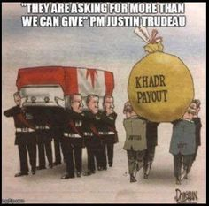 Justin Trudeau says veterans are asking for more than the government can give. Political Memes, Political Views, Political Cartoons, Politics, The Twits, Scum Of The Earth, Conservative Republican, Justin Trudeau