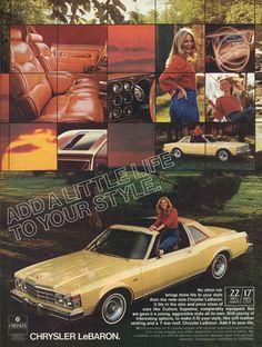 1978 Chrysler LeBaron T-Top - Productioncars.com