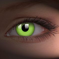 Thought lenses that antifreeze color freddy bleeds might be cool. Green UV Contact Lenses (Pair)