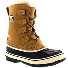 452662cc542681 Sorel Womens 1964 Pac 2 Waterproof Winter Boot BrnBlk 9 M US -- Read more