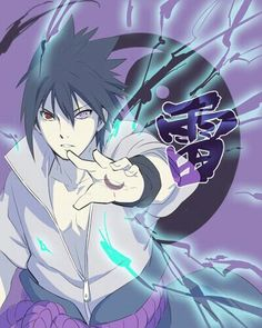 Uchiha Sasuke, text, Chidori, Sharingan, Rinnegan; Naruto