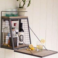 Hanging Liquor Cabinet | Hanging Wine And Liquor Racks | Pinterest | Liquor  Cabinet