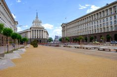 57d3301b76f The former Communist Party House /Bulgarian: Partien Dom/ is now used by the