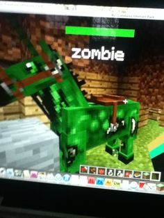 Give any horse the essence of undead and you get a zombie Minecraft Horse, Nerf, Creatures, Horses, Crafts, Manualidades, Handmade Crafts, Craft, Horse
