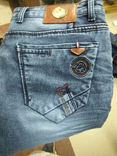Patched Jeans, Denim Jeans Men, Boys Jeans, Jeans Pants, Jeans Drawing, Patterned Jeans, Bermuda, Jeans Style, Sewing Jeans