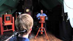 Making a Tintype Process Historian Mark Osterman demonstrates the making of a Civil War-era tintype.