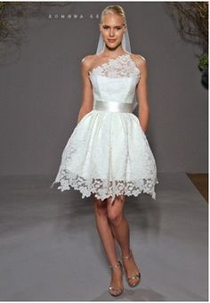 Off White Wedding Short