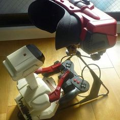 By @nintendolife It's R.O.B! #gadget #electronic #tablets