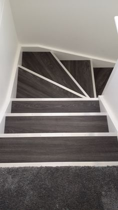 Allure Locking Gen-3 - Aspen Oak Black with Silver Fluted Stair Nosing