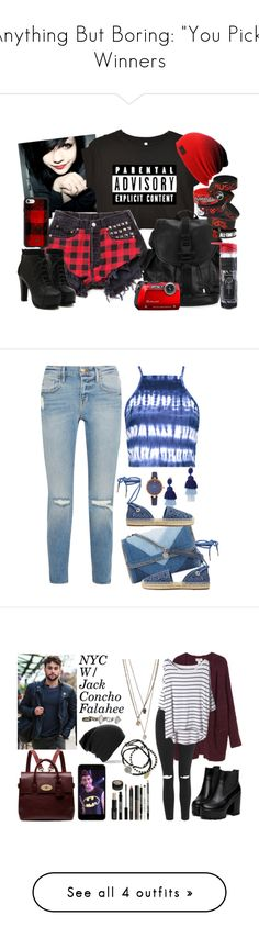 """""""Anything But Boring: """"You Pick"""" Winners"""" by majezy ❤ liked on Polyvore featuring Muji, Givenchy, Hot Topic, Casetify, Hello Kitty, Frame, Boohoo, Oscar de la Renta, STELLA McCARTNEY and MICHAEL Michael Kors"""