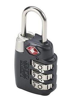 Combination locks (bigger ones for the doors/lockers and smaller ones for zippers etc)