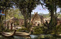 Shanghai Disneyland Imagineering concept art