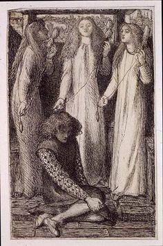 Dante Gabriel Rossetti - Maids of Elfen–Mere