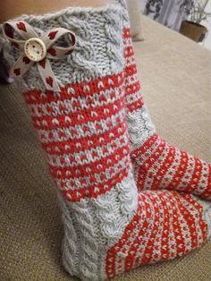 Knit Basket, Knitting Stitches, Christmas Stockings, Holiday Decor, Crochet, Pattern, Villas, Gardening, Nails