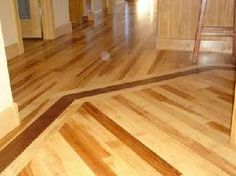 Before & After: From Crummy To Fabulous Faux Bois Concrete Floors Vintage Revivals Hickory Flooring, Wooden Flooring, Hardwood Floors, Floor Design, House Design, Flooring Companies, Polished Concrete, Dark Wood, New Homes