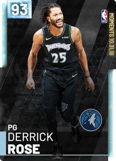 5b115fe191ea Derrick Rose - NBA 2K19 Custom Card - 2KMTCentral Baloncesto