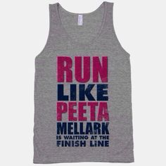 Lol haha funny pics / pictures / Hunger Games Humor / Peeta / T Shirts--SAW ONE LIKE THIS BUT WITH FINNICK.I WANT BOTH!