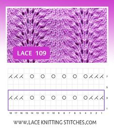 a Old Shale) is one of the simplest of lace patterns because it involves just knit, purl and a few simple decreases and one increasing technique. Lace Knitting Stitches, Lace Knitting Patterns, Lace Patterns, Free Knitting, Crochet Pattern, Drops Alpaca, Drops Design, Knitted Blankets, Garter Stitch