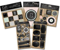Today's Peachy Cheap deal is a My Minds Eye Studio Chalk Kit.  50% OFF at www.peachycheap.com!